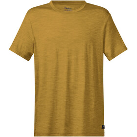 Bergans Oslo Wool - T-shirt manches courtes Homme - jaune